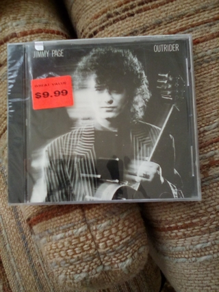 NIP JIMMY PAGE CD (OUTRIDER)