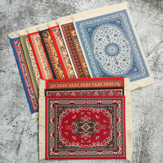 [GIN FOR FREE SHIPPING] Mousepad Mice Persian Rug Style