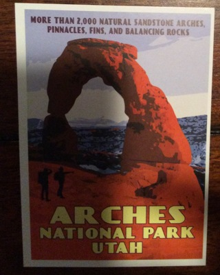 Arches National Park View Card