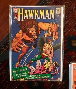 Hawkman #21 12cent Cover Silver Age