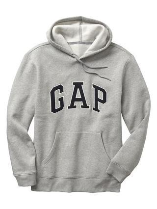NEW! Gap Sweat Shirt Hoodie Men's Grey Size XL
