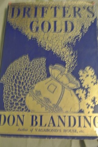 Drifters Gold Written & SIGNED By Don Blanding, Hawaii Poetry 1942