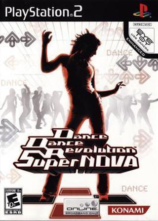 DDR Super nova PS2 game