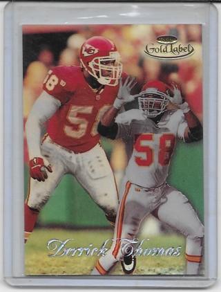 Derrick Thomas 1998 Gold Label Class 2 #18