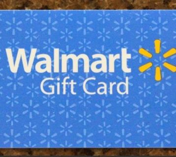 $10 yes $10 Walmart gift card.