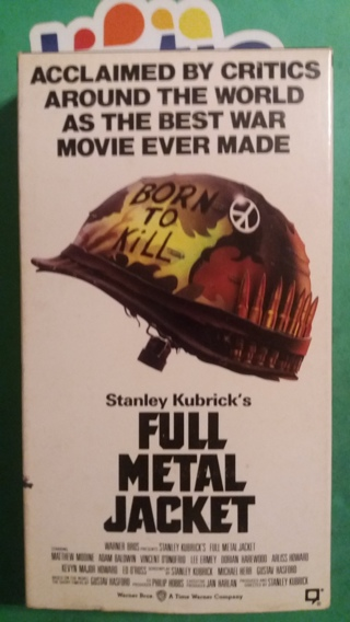 VHS movie  full metal jacket   free shipping