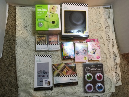 Brand New Instamax Camera With Case & Accessories
