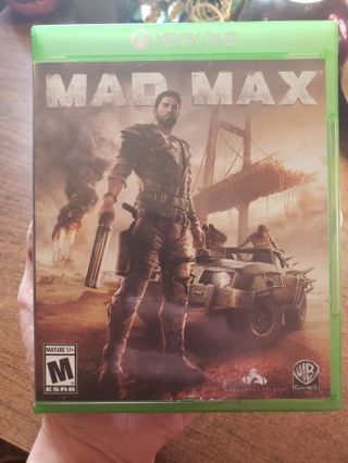Mad Max Xbox One Game