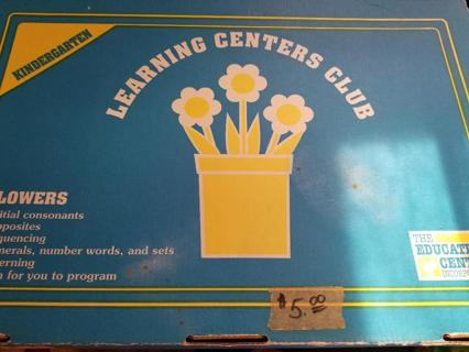 Box Set of Lesson Plans and Activities – Flowers
