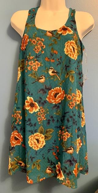 New Bird & Flower Beautiful Dress Small