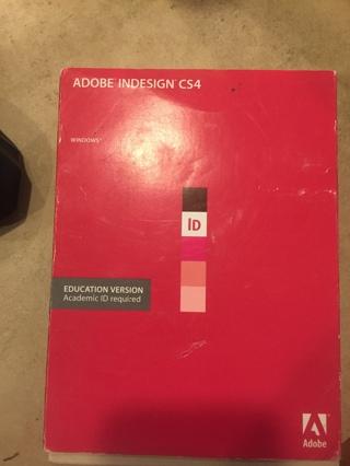 adobe indesign CS4 with key