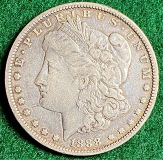 1888 MORGAN SILVER DOLLAR!!