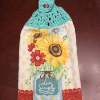 ❤️Hand Crochet Stove Towel.❤️