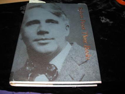 """POET  """"Robert Frost"""" 2 books in one"""