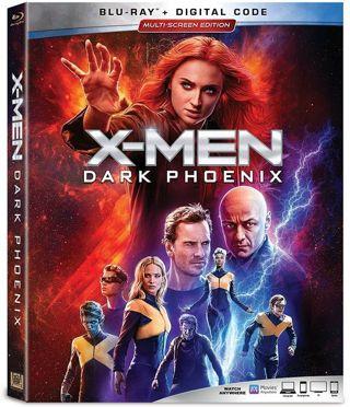 X-Men Dark Phoenix HDX Movies Anywhere, Vudu, iTunes