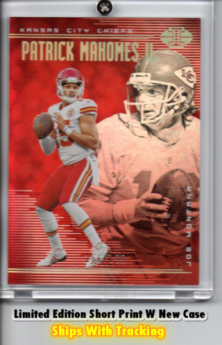 Free Patrick Mahomes Limited Edit D 166 199 Joe Montana