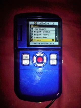 Vivitar video and photo camera