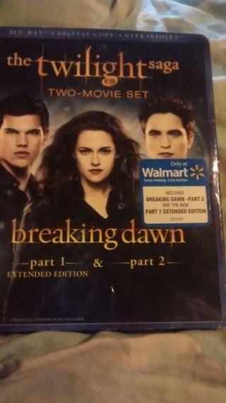 Twilight breaking dawn part 1 & 2