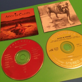 Alice In Chains Cd's: Dirt and Grind (1st Song on the Yellow Labeled CD)