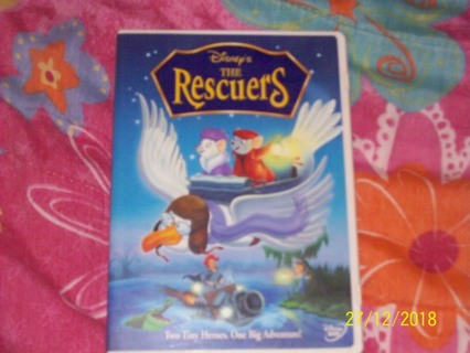 Disney's The Rescuers (used) dvd