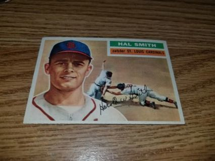 1956 Topps Baseball Hal Smith #283 St Louis Cardinals,VGEX condition,Free Shipping!