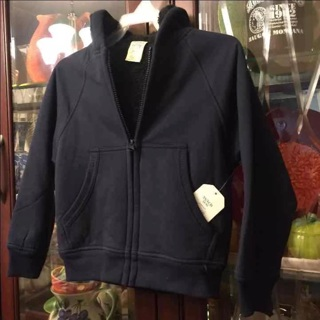 ❣️ New Boy's Zip-up Hoodie Size: XS (4-5)❣️