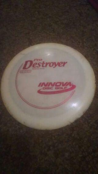 Disc golf frisbee