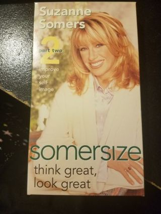 Suzanne Somers Think Great, Look Great VHS Part 2