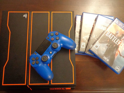 playstation 4 1tb black ops 3 limited edition