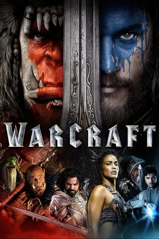 WARCRAFT Digital HD Movie code ultraviolet/iTunes