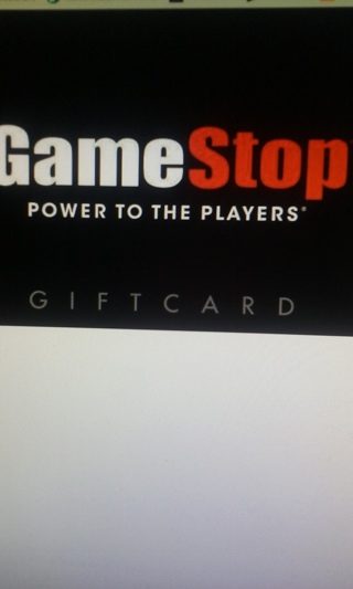 $25.00 GAMESTOP E-CARD