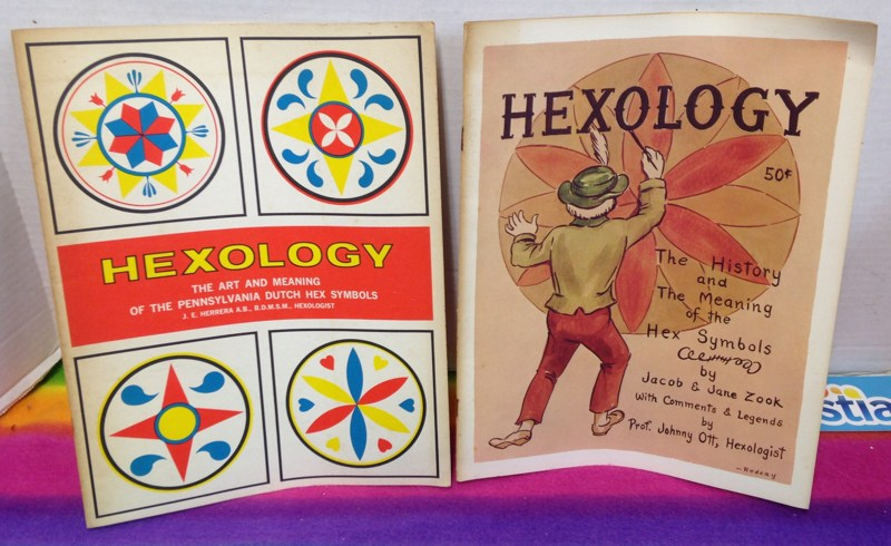 Free A332 Hexology Vintage Books Art Meaning Of Penn Dutch Hex
