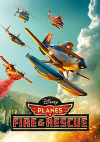 """Planes: Fire and Rescue """"HDX"""" DIGITAL MOVIE CODE ONLY DMA ~ MA ~ Movies Anywhere ~ VUDU"""