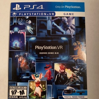 PlayStation Vr demo disc 2.0