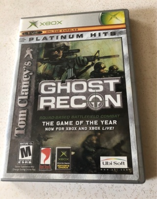 XBox Ghost Recon Game Great Condition