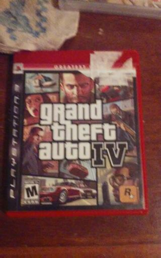 Grand theft auto IV PS3 Greatest hits