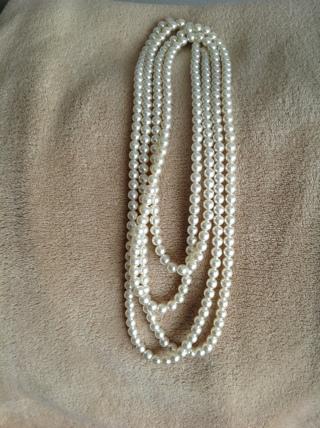 SC Faux Pearl Necklace
