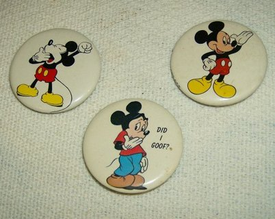 Disney Mickey Mouse Pin Collection