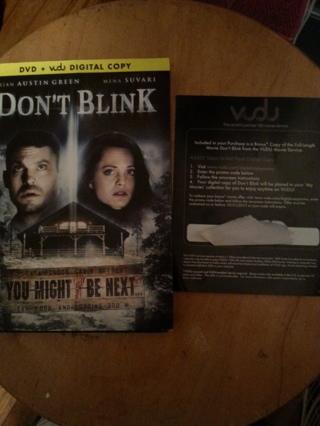 DON'T BLINK digital vudu copy.