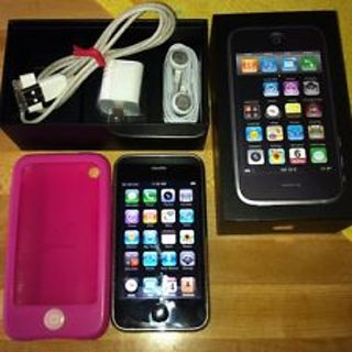 APPLE IPHONE 3G 8gb MINT With Extras WOW