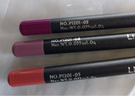 "BN! Three Shades ""PUDAIER"", Lip Liner Pencils. Smooth, Creamy, Great Colors! #'s 5, 6 & 9"