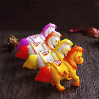 Up Plastic Clockwork Spring Wind Up Horse Shaped Toys Gift For Children