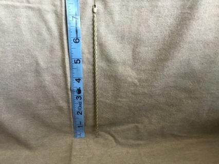 Unisex Gold-Toned Rope Chain Bracelet