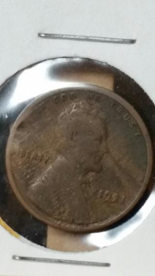 1921 Wheat Back Penny
