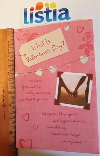 ෆ Valentine's Day Card - What is Valentine's Day ෆ