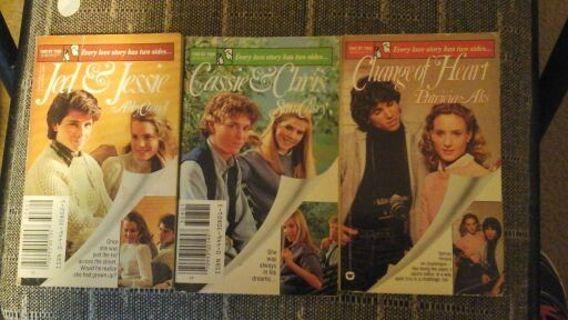 3 Romance Novels