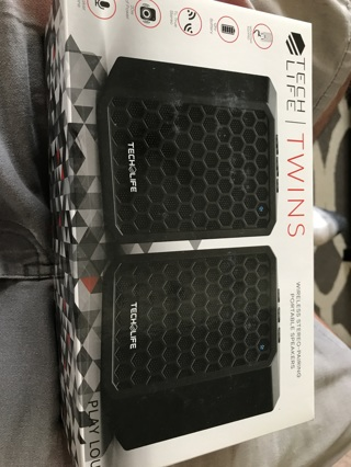 Tech life twins speakers (new product)