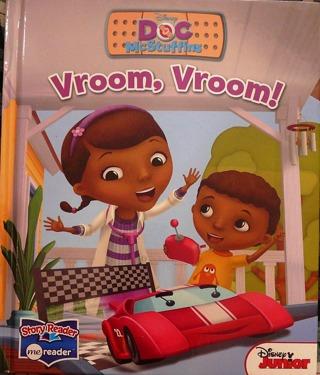 """Disney Jr. """"Doc..Vroom, Vroom"""" Children's Book"""
