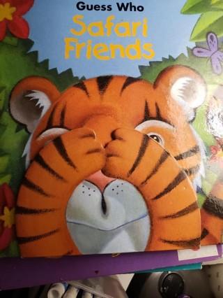 Guess Who – Safari Friends