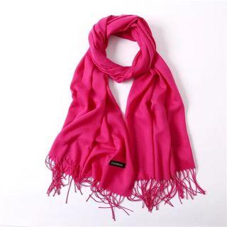 women scarf fashion summer thin solid shawls and wraps lady pashmina bandana